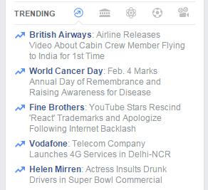 Facebook Trending Topics2